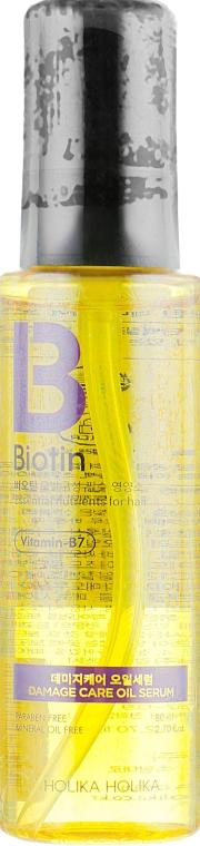 Сыворотка для волос - Holika Holika Biotin Damage Care Oil Serum