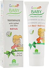 Духи, Парфюмерия, косметика Зубная паста «Красные ягоды» - Natura House Baby Cucciolo Toothpaste