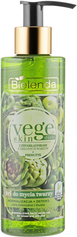 Нормализующий гель для умывания - Bielenda Vege Skin Diet