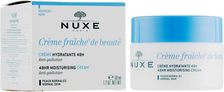 Увлажняющий крем для лица - Nuxe Creme Fraiche de Beaute Creme Hydratant