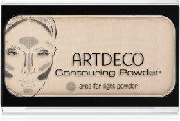 Духи, Парфюмерия, косметика Матовая пудра для лица - Artdeco Contouring Powder