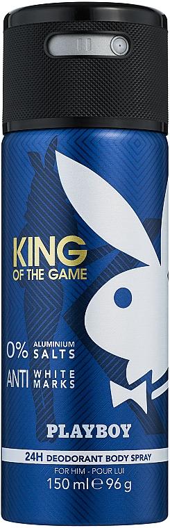 Playboy King Of The Game - Дезодорант