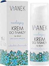 Духи, Парфюмерия, косметика Дневной крем с увлажняющим эффектом для сухой и чувствительной кожи - Vianek Day Cream