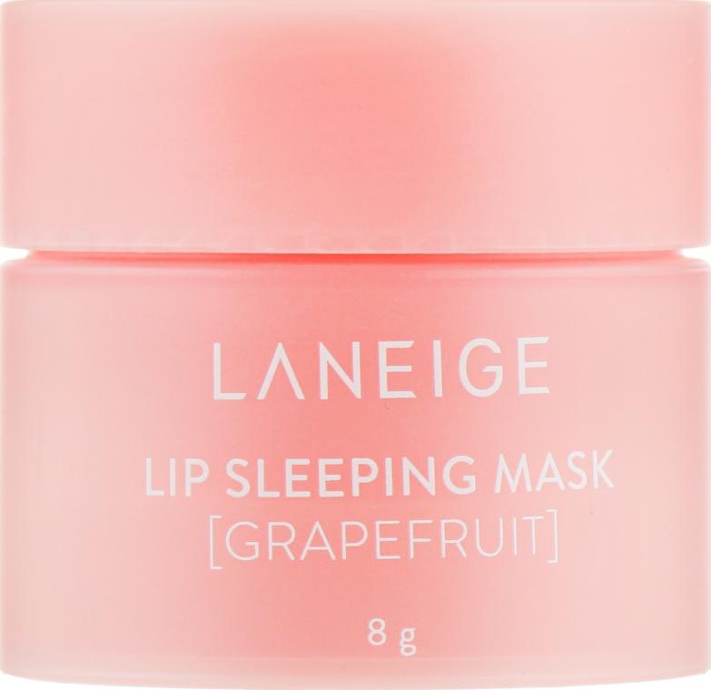 Ночная маска для губ с экстрактом грейпфрута - Laneige Lip Sleeping Mask Grapefruit (мини)