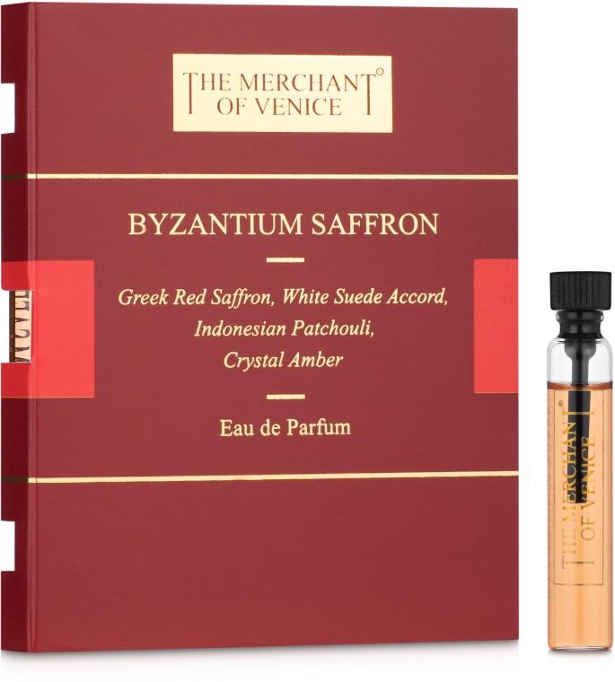 The Merchant Of Venice Byzantium Saffron - Парфюмированная вода (пробник)