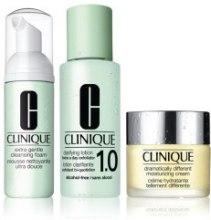 Духи, Парфюмерия, косметика Набор - Clinique 3-Step Creates Great Skin (foam/50ml + lot/100ml + cr/30ml)