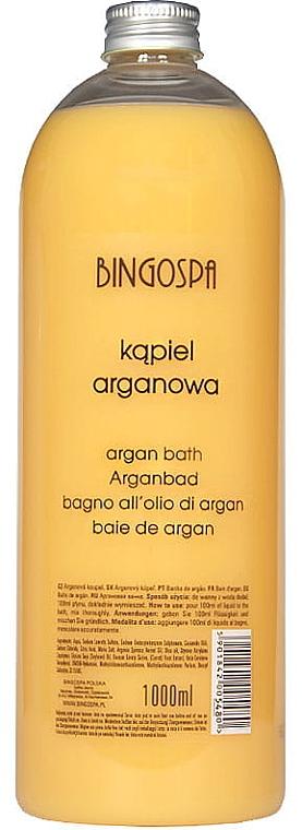 Пена для ванн с аргановым маслом - BingoSpa Bath Aargan