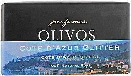"Духи, Парфюмерия, косметика Натуральное оливковое мыло ""Побережье Кот-д'Азур"" - Olivos Perfumes Cote Dazur Glitter"