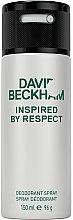 Духи, Парфюмерия, косметика David Beckham Inspired by Respect - Дезодорант аэрозольный