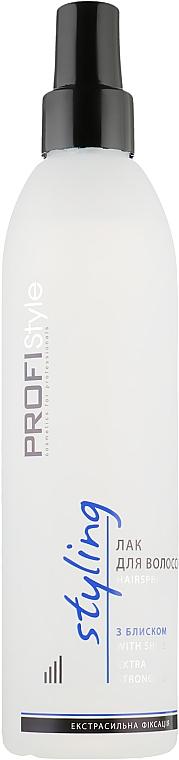 Лак для волос с блеском - Profi style