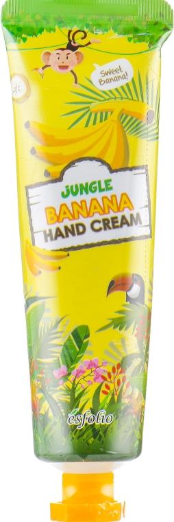 Банановый крем для рук - Esfolio Jungle Banana Hand Cream