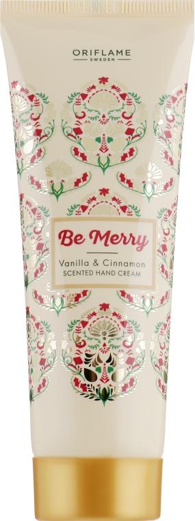 "Крем для рук ""Ваниль и корица"" - Oriflame Be Merry"