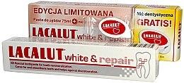 Духи, Парфюмерия, косметика Набор - Lacalut White & Repair Set (t/paste/75ml+dental/floss)