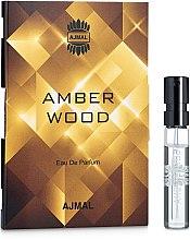 Духи, Парфюмерия, косметика Ajmal Amber Wood - Парфюмированная вода (пробник)