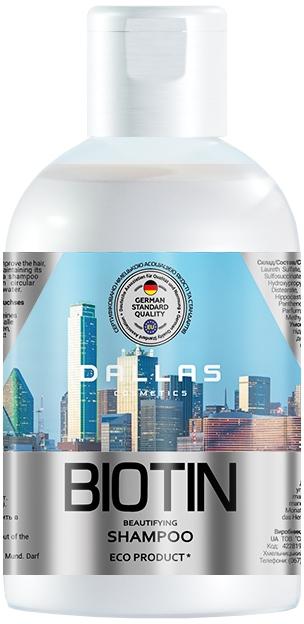 Шампунь для улучшения роста волос с биотином - Dallas Biotin Beautifying