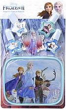 Духи, Парфюмерия, косметика Набор лаков для ногтей с футляром - Markwins Frozen