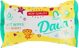 Духи, Парфюмерия, косметика Влажные салфетки для детей экстрактом ромашки - Dada With Camomile Extract Wipes