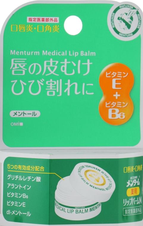Бальзам регенерирующий для губ с витамином E и B6 - Omi Brotherhood