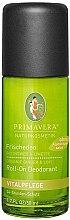"Роликовый дезодарант ""Имбрирь и лайм"" - Primavera Fresh Deodorant with Ginger and Lime  — фото N1"