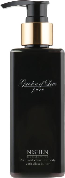 "Парфюмированный крем для тела ""Garden of Love"" - Nishen Parfumed Cream For Body With Shea Butter"