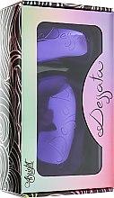 Духи, Парфюмерия, косметика Набор щеток для волос - Dessata Bright Purple Duo Pack