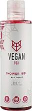 """Духи, Парфюмерия, косметика Гель для душа """"Красный виноград"""" - Vegan Fox"""
