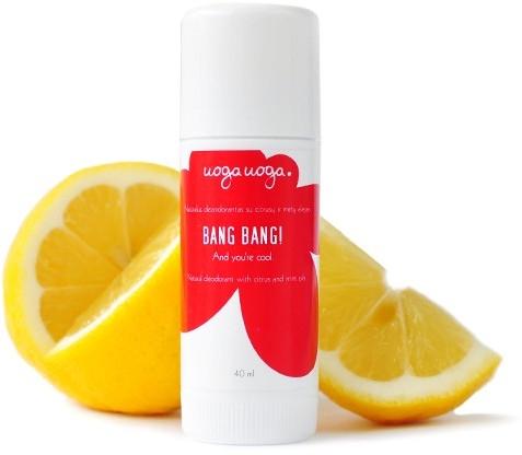 Натуральный дезодорант-стик - Uoga Uoga Bang Bang Natural Deodorant