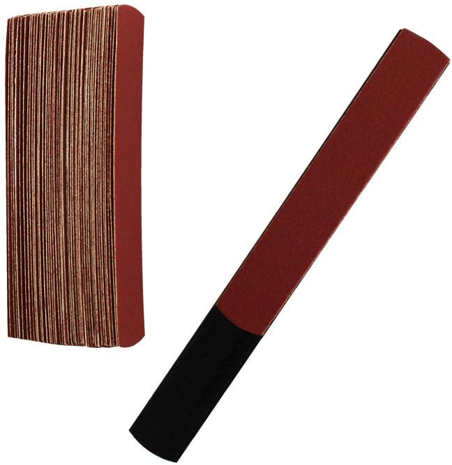 Пилка для ногтей со сменными файлами PKM-011,(45 файлов+основа),220 грит - Fayno