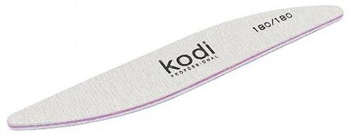"Пилка для ногтей ""Бумеранг"" - Kodi Professional Gray, 180/180"