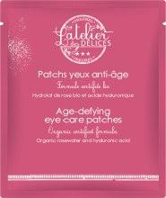 Духи, Парфюмерия, косметика Омолаживающие подтягивающие гиалуроновые патчи под глаза - L'Atelier des Délices Youth+ Age-defying Eye Care Patches