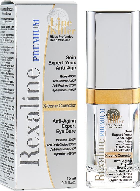 Антивозрастной крем эксперт для кожи вокруг глаз - Rexaline Line Killer X-Treme Corrector Cream