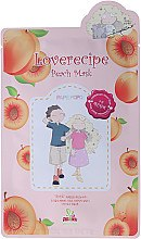 Духи, Парфюмерия, косметика Тканевая маска для лица с экстрактом персика - Sally's Box Loverecipe Peach Mask