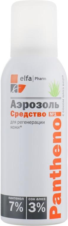 Аэрозоль с соком алоэ вера средство для регенерации кожи - Эльфа Panthenol