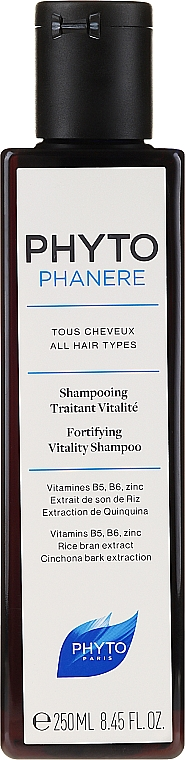 Восстанавливающий шампунь для волос - Phyto Phytophanere Fortifying Vitality Shampoo