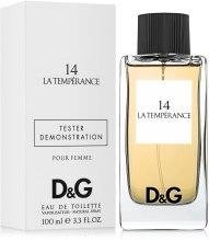 Духи, Парфюмерия, косметика Dolce&Gabbana Anthology La Temperance 14 - Туалетная вода (тестер с крышечкой)