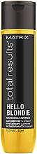 Духи, Парфюмерия, косметика Кондиционер для сияния светлых волос - Matrix Total Results Hello Blondie Conditioner