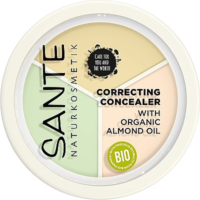 Консилер - Sante Correcting Concealer With Organic Almond Oil