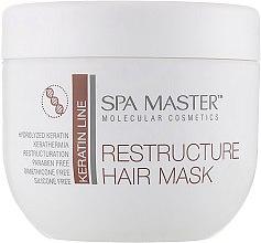 Парфумерія, косметика Реструктурувальна маска з кератином і кокосовою олією - Spa Master Keratin Line