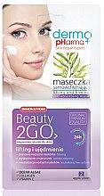 Духи, Парфюмерия, косметика Маска для лица - Dermo Pharma Beauty 2GO Lifting& Firming Mask