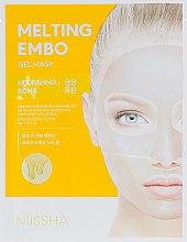 Духи, Парфюмерия, косметика Гидрогелевая питательная маска - Missha Melting Embo Gel Mask Nourishing Bomb