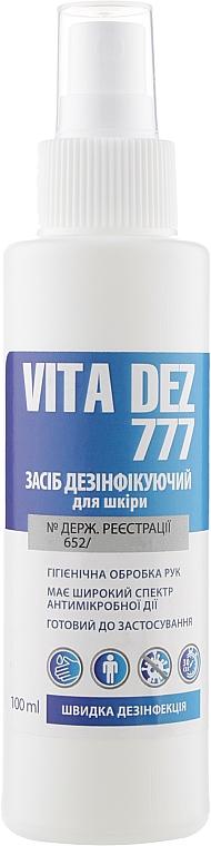 Средство для дезинфекции - Vita Dez 777
