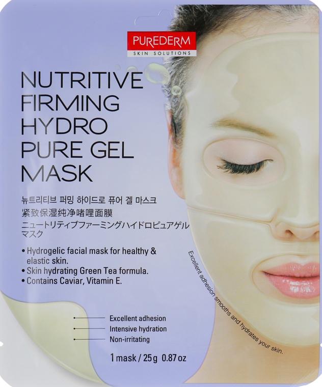 Маска гидрогелевая для лица укрепляющая - Purederm Firming Hudro Pure Gel Mask