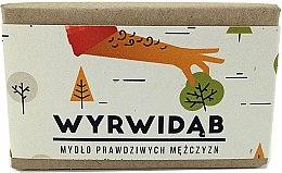 Духи, Парфюмерия, косметика Натуральное мыло для мужчин - Cztery Szpaki Wyrwidab Men Soap