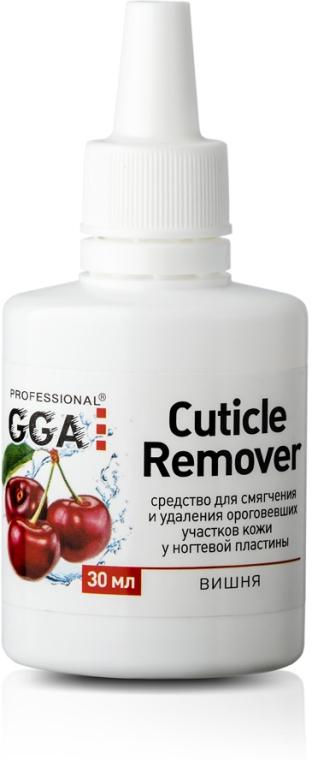 "Средство для удаления кутикулы ""Вишня"" - GGA Professional Cuticle Remover"