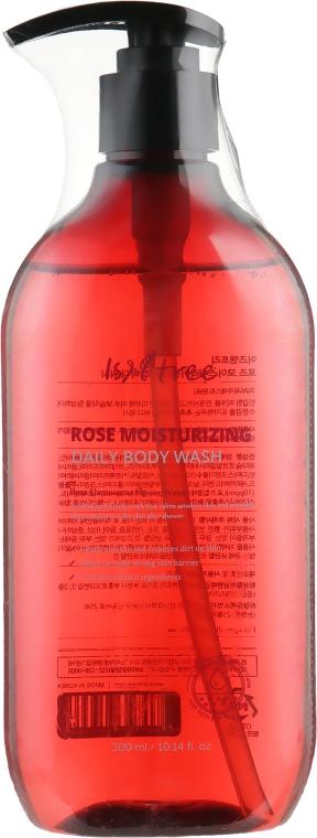 Увлажняющий гель для душа - Isntree Rose Moisturizing Daily Body Wash