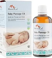 Духи, Парфюмерия, косметика Миндальное масло для массажа младенцев с лавандой, ромашкой, органической геранью, календулой - Mommy Care Baby Massage Oil