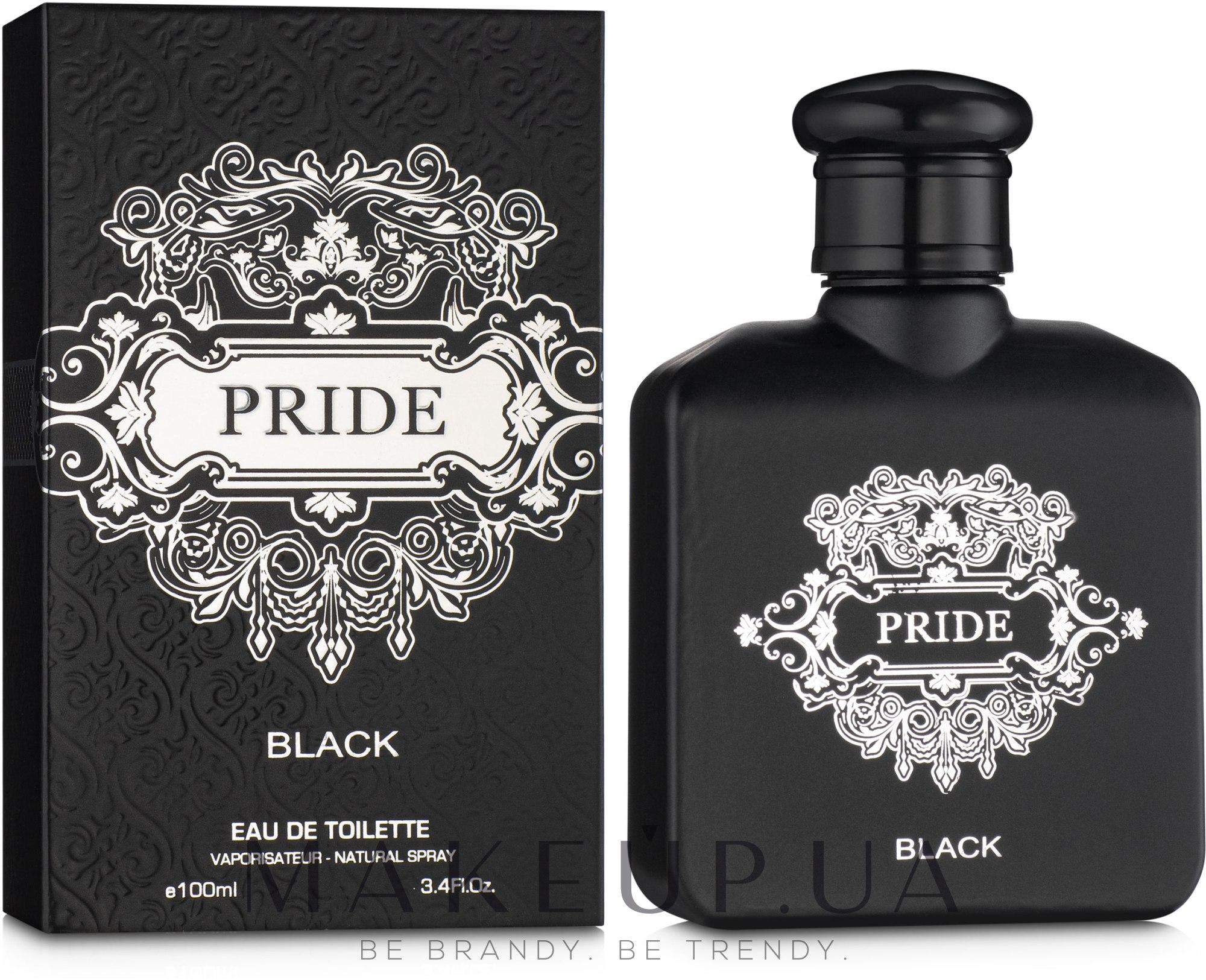 Cosmo Designs Pride Black - Туалетная вода — фото 100ml