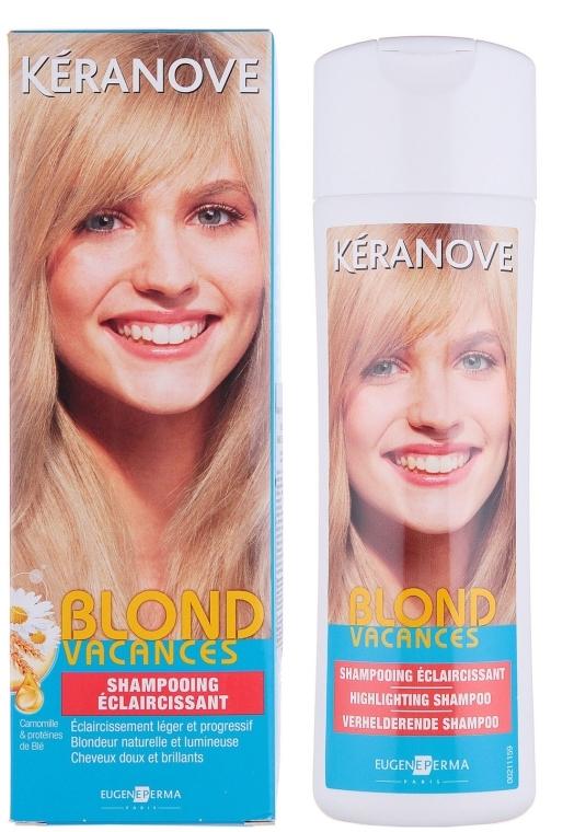 Шампунь для естественного осветления - Eugene Perma Keranove Laboratoires Shampooing Eclaircissant Blond Vacances