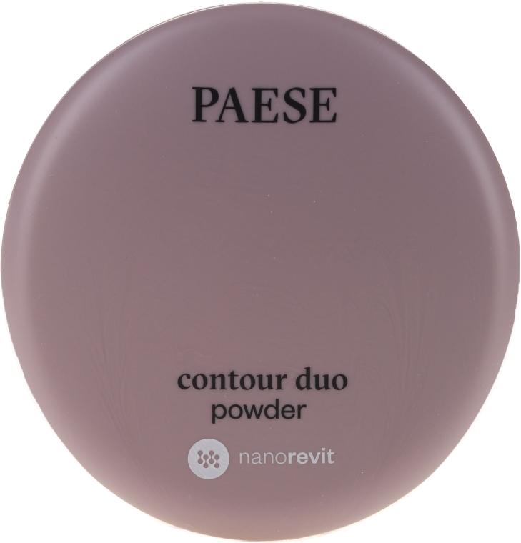 Двойная пудра для контуринга - Paese Contour Duo Powder