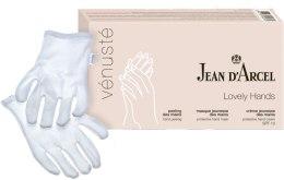 "Духи, Парфюмерия, косметика Набор - Jean d'Arcel Venuste ""Lovely Hands"" (scr/30ml + cr/30ml + mask/30ml + gloves/1pc)"